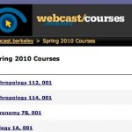 Acceso gratis a diversos cursos en video de la Universidad de Berkeley