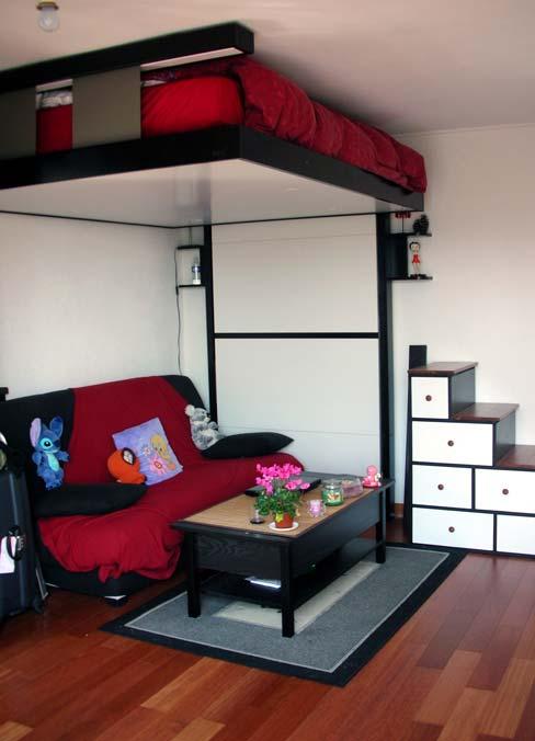 Ideas de negocios muebles de dise o que ahorran espacio for Muebles de cocina espacios pequenos