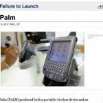 Innovación permanente para tener éxito en los negocios, el caso de Palm