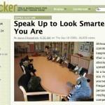 Estrategias para parecer más inteligente, habla y opina frecuentemente