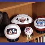 Una idea de negocios en el deporte. Personalizar pelotas con fotos o mensajes particulares