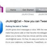 Ahora hable gratis por Twitter, envíe audios gracias a JaJah