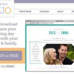 Tu propio website gratis para promocionar tu matrimonio y ver los detalles de tu boda y compartir con familia y amigos