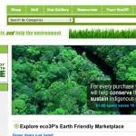 Eco3p, una tienda virtual donde puedes comprar, vender y ganar dinero sólo con productos verdes o ecológicos