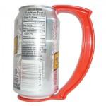 Asas de plástico para latas de gaseosas, cervezas o jugos, un producto novedoso para ganar dinero