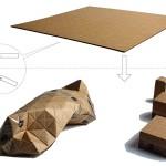 Ideas de negocios novedosas, ecológicas y simples, una caja de carton plegable