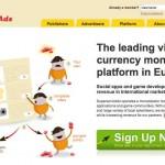 Publicidad especial para hacer funcionar el dinero virtual en comunidades virtuales o de juegos por computadora