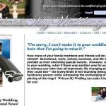 Ideas de negocios rentables, filmar y transmitir en vivo y en directo su boda virtual por internet