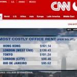 Ranking de las ciudades más caras del mundo para alquilar oficinas