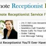La idea de negocios de la recepcionista o telefonista virtual, una variante del asistente virtual