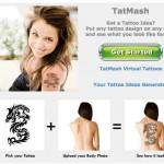 Una idea de negocios de por vida y para siempre, prueba por internet como te quedará un tatuaje o tattoo antes de hacértelo