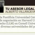 Tu Asesor Legal un nuevo blog que acabo de lanzar en Peru 21