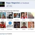 Gracias a todos Haga Negocios superó los 500 fans en su página de Facebook