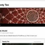 Se lanzó la versión 3.0 de WordPress la mejor plataforma para hacer un blog o bitácora