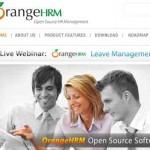 Orange HRM un programa gratis para administrar los recursos humanos de su idea de negocios