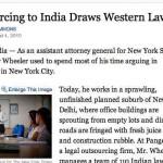 El nuevo modelo de negocios de los abogados anglosajones para ganar más dinero, contratar abogados de la India