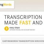 Un servicio de transcripción de audios por internet usando un modelo de negocios rentable y novedoso