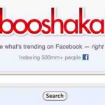 Booshaka un motor de búsqueda para estar informado de las tendencias de negocios en Facebook