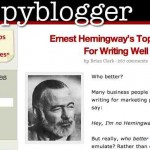 5 consejos de Hemingway para escribir mejor y tener más tráfico de visitas a su blog o website o en sus comunicaciones de negocios
