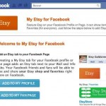 Vender más y ganar más dinero usando la aplicación de tu tienda virtual de ETSY en tu Facebook