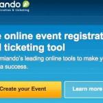 Amiando, de todo para organizar, promocionar e incluso vender tickets por internet para un concierto, conferencia, eventos o reuniones de negocios