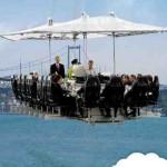 Un restaurante en el cielo, una idea de negocios extraña para ganar dinero