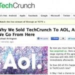 El famoso blog de negocios y tecnología TechCrunch fue comprado por AOL