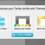 Crea gratis un fondo personal para Twitter con los colores de tu idea de negocios o tu marca personal