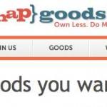 Un nuevo modelo de negocios rentable para ganar dinero, compartir cosas en lugar de comprarlas con SnapGoods