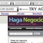 Una herramienta para elegir la combinación ideal de colores de tu blog, website o tienda virtual