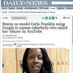 La lucha por la protección a la imagen y al honor por internet, modelo gana proceso contra YouTube