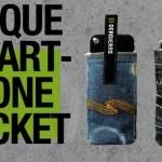 Una forma inteligente de crear una idea de negocios rentable reciclando bolsillos de pantalones jeans