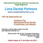 Lima Dental Partners un blog sobre temas dentales que ofrece una oferta especial exclusiva para los lectores de Haga Negocios