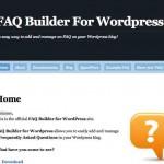 Un Plugin para implementar gratis una página de preguntas frecuentes en tu blog de WordPress