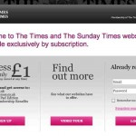 El periódico Times de Londres perdió 4 millones de visitas con su experimento de cobrar para leer su website