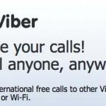 Ahorrar dinero con la aplicación Viber, llamadas gratis por teléfono desde tu smartphone o teléfono inteligente o tu iTouch o iPad