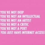 Para todos los que se creen que son un gurú de los negocios en internet