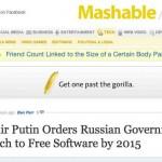 El gobierno Ruso se cambia al software libre para el 2015, una oportunidad de negocios para los desarrolladores del Open Source