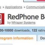 RedPhone una aplicación gratis para encriptar tus llamadas telefónicas desde smartphones con sistema Android