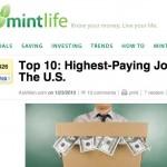 Un nuevo ranking de las 10 profesiones o trabajos mejor pagados en los Estados Unidos elaborado por el gobierno de dicho país
