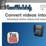 Un servicio gratis para convertir videos en formatos de audio, una buena herramienta para cursos o tutoriales online