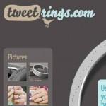 Ideas de negocios para ganar dinero con Twitter, haz un anillo con tu tweet favorito