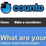 Counto, una simple plataforma para crear un blog con un cronómetro con la fecha de lanzamiento de tu idea de negocios