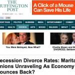 Estudio demuestra que en época de crisis económica o recesión de la economía las personas se divorcian menos