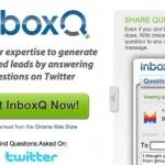 InboxQ una aplicación para generar más oportunidades de negocios usando Twitter contestando preguntas relacionadas a tu negocio