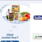 Potenciar tu marca dando productos o servicios gratis, el caso de Gallina Blanca y sus recetas de cocina gratis por Twitter