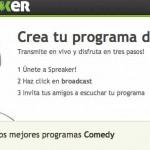 Spreaker una plataforma en idioma Español para tener tu programa de radio gratis por internet