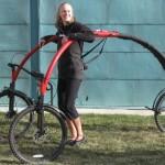 Ideas de negocios ingeniosas, una bicicleta de diseño para que sientas que vuelas
