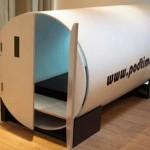 Ideas de negocios extrañas, alquilar camas portátiles cerradas para hacer una siesta o descansar