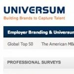 Ranking de las empresas en las cuales los profesionales desean más trabajar